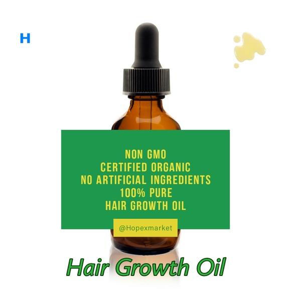 Hopexnaturals Hair Growth Oil Organic Poshmark